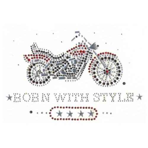 S2134 - BORN WITH STYLE MOTORCYCLCE